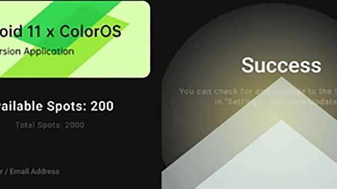 ColorOS Android 11